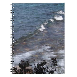 Lake Tahoe Waves Notebook