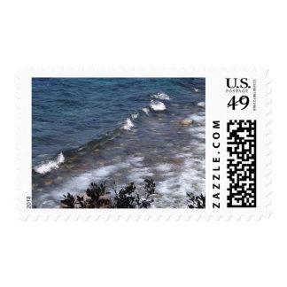 Lake Tahoe Waves Stamps
