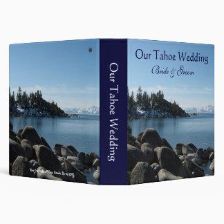 Lake Tahoe Wedding Binder