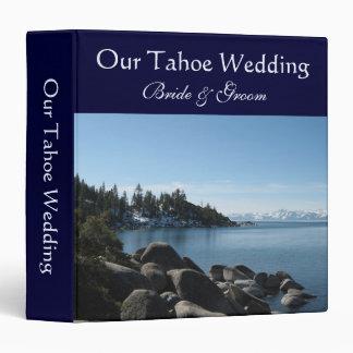 Lake Tahoe Wedding, Incline Village Binder