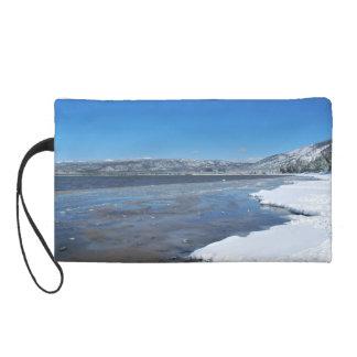 Lake Tahoe Winter Wristlet Clutches