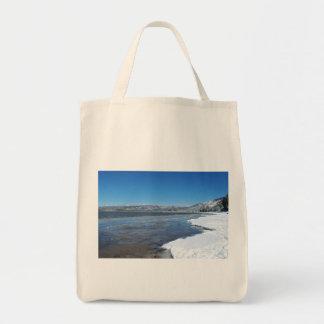 Lake Tahoe Winter Tote Bags