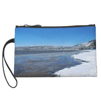 Lake Tahoe Winter Wristlet Clutch