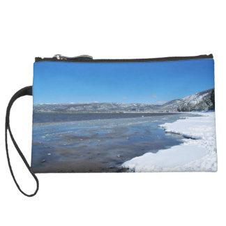 Lake Tahoe Winter Wristlet Purse