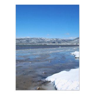 Lake Tahoe Winter Card