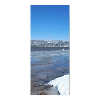 Lake Tahoe Winter 4x9.25 Paper Invitation Card