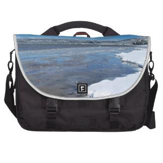 Lake Tahoe Winter Laptop Commuter Bag