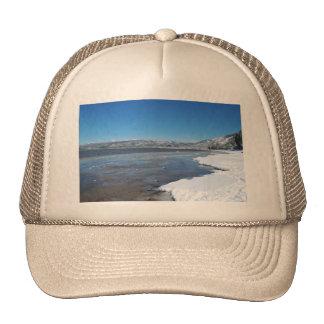Lake Tahoe Winter Trucker Hat