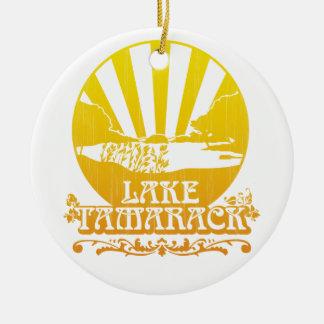 Lake Tamarack Ornament : Retro