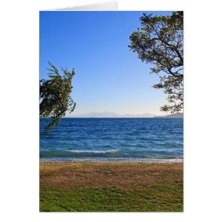 Lake Taupo, New Zealand Card