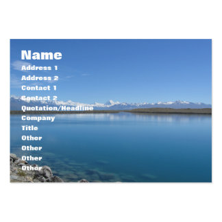 Lake Tekapo ... New Zealand Business Card Template