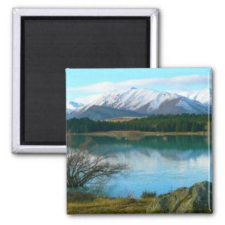 Lake Tekapo, New Zealand Magnets