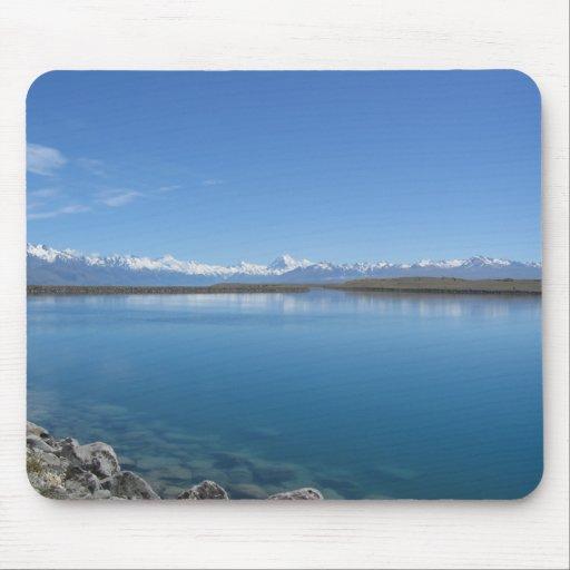 Lake Tekapo ... Southern Alps, New Zealand Mousemat