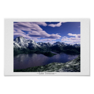 Lake Terracon Poster