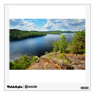 Lake Themed Wall Sticker