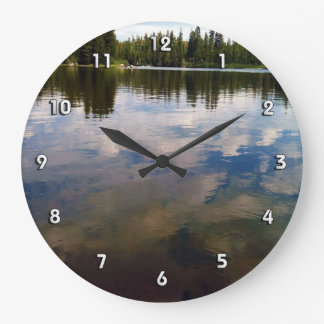 Lake Time! Large Clock