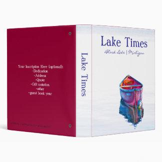 """Lake Times Binder (1.0"""")"""