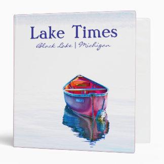 """Lake Times Binder (1.5"""")"""