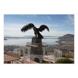Lake Titicaca Puno Peru 3.5x5 Paper Invitation Card