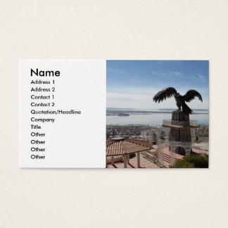 Lake Titicaca Puno Peru Business Card