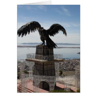 Lake Titicaca Puno Peru Card