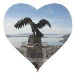 Lake Titicaca Puno Peru Heart Sticker
