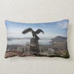 Lake Titicaca Puno Peru Lumbar Pillow