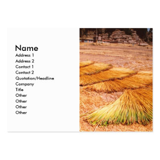 Lake Titicaca Uros Reed Island Large Business Card