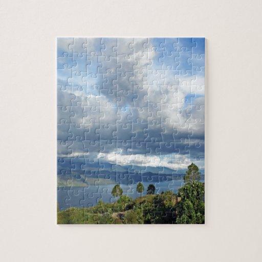 Lake Toba in Sumatra Puzzle