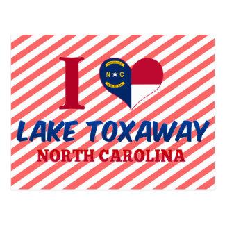 Lake Toxaway, North Carolina Postcard
