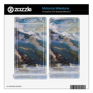 Lake Traunsee with mountains by Richard Gerstl Motorola Milestone Decals
