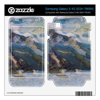 Lake Traunsee with mountains by Richard Gerstl Samsung Galaxy S 4G Skin