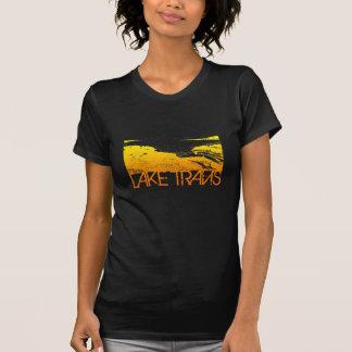 Lake Travis Skyline Design T-Shirt