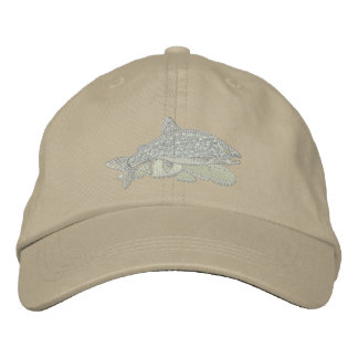 Lake Trout Embroidered Baseball Hat