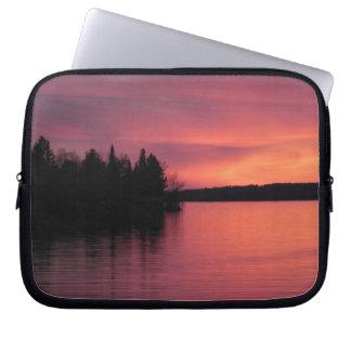 Lake Vermilion Sunset 84 Computer Sleeve