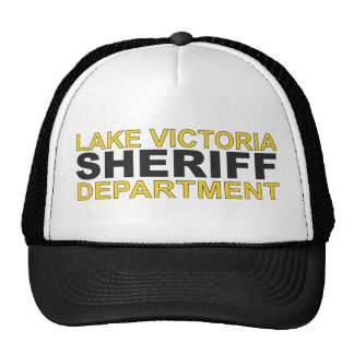 Lake Victoria Sheriff Department Hat