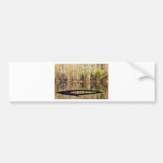 Lake View Bumper Sticker