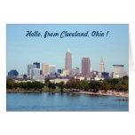 Lake View (Edgewater) Cleveland Ohio Greeting Card Greeting Card
