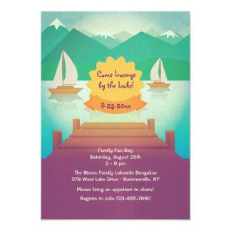 Lake View Invitation
