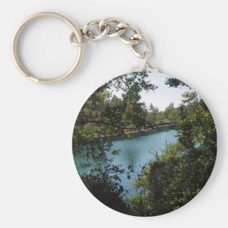 Lake View Keychain