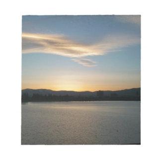 Lake View Memo Note Pad