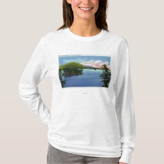 Lake View of Shelving Rock Mountain T-Shirt
