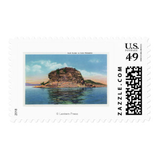 Lake View of the Rock Dunder Postage