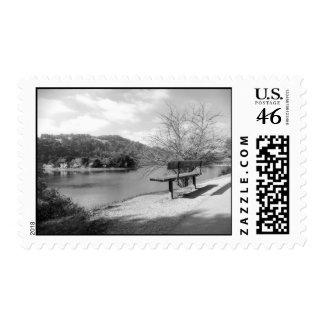 Lake View Stamp