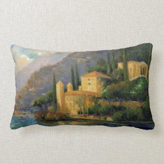 Lake Villa Throw Pillow