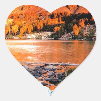 Lake Virginia Sierra Nevada Ains Heart Sticker