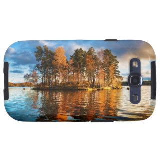 Lake Vuoksa Near Priozersk Russia At Sunset Samsung Galaxy SIII Cover