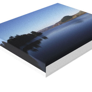 Lake Vyrnwy Scenic view Canvas Print