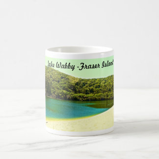 lake wabby- fraser island coffee mug