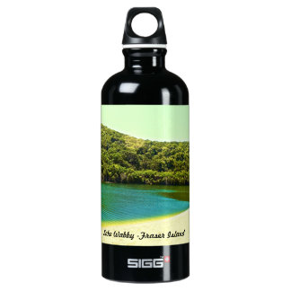 lake wabby- fraser island water bottle